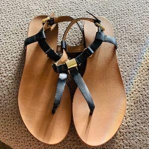 Aldo black flat sandals wardrobe staple